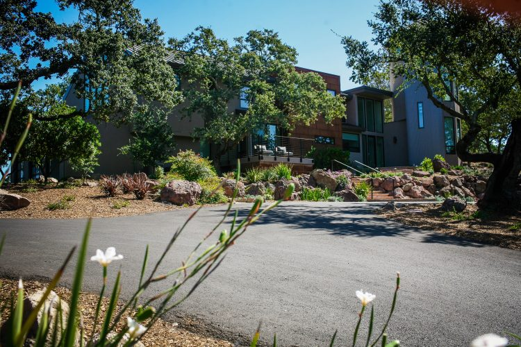 custom Napa winery guest house remodel
